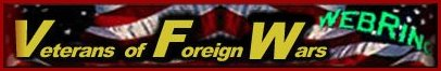 Veterans of Foreign Wars Web Ring logo